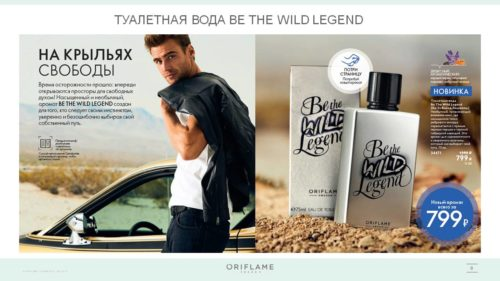 34471 Tualetnaya voda Be The Wild Legend